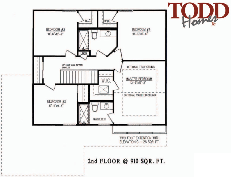 Floor Plan - 2nd Floor